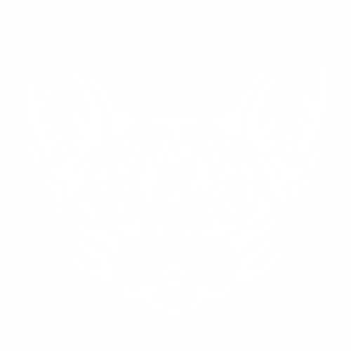 Наклейка кошка сфинкс