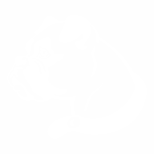 Наклейка собака боксер