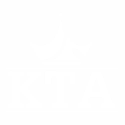 Наклейка КТА с короной