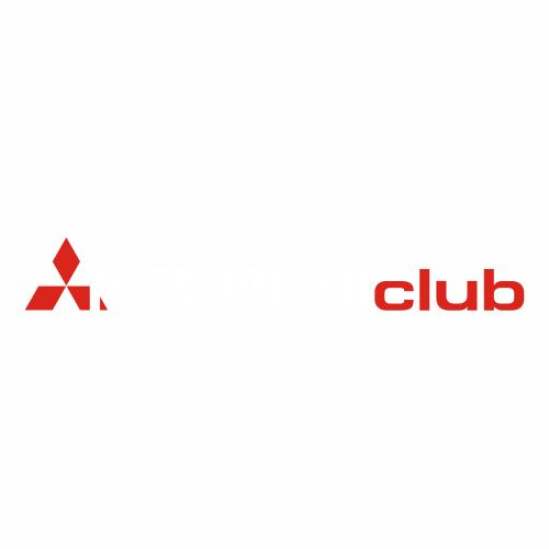 Наклейка Mitsubishi club