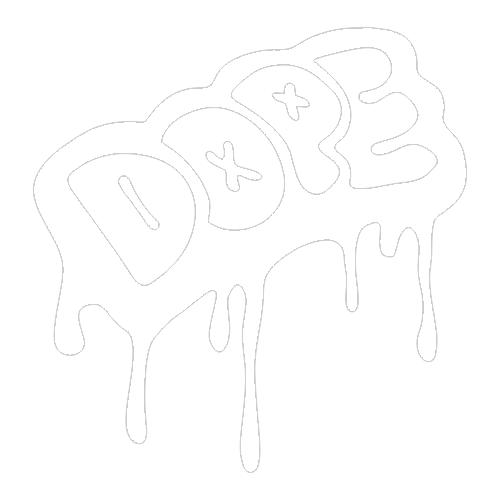 Наклейка DOPE