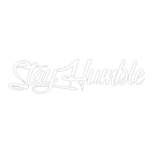 Наклейка Stay Humble