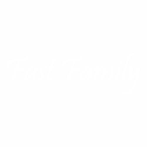 Наклейка Fast Family