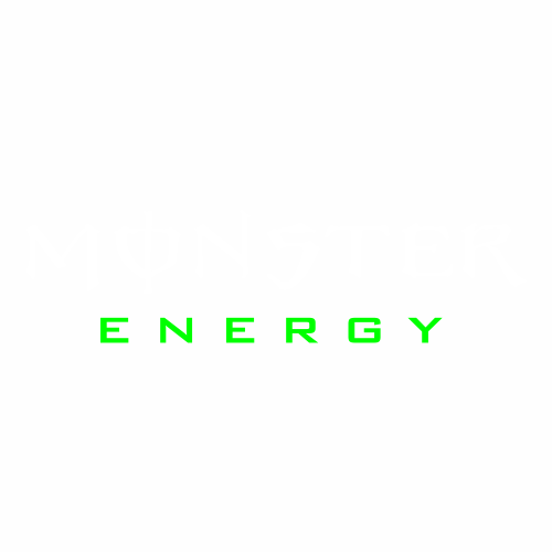 Monster Energy - 4 (флуор)