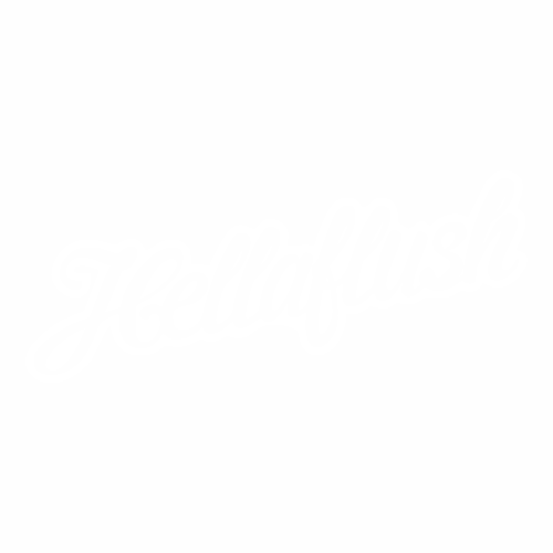 Наклейка Hellaflush