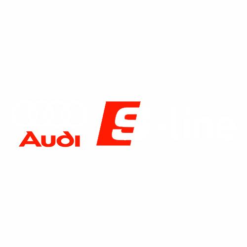 Наклейка AUDI S-line