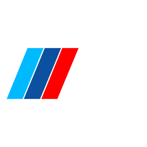 Наклейка BMW M logo