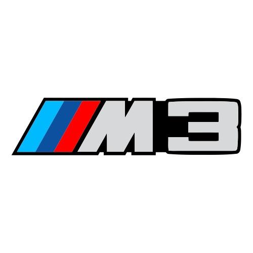 """BMW """"M3"""" (печать)"""