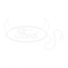 Ford devil logo