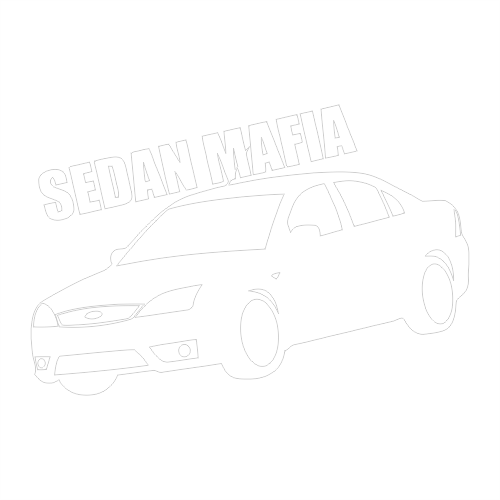 Наклейка Ford Sedan Mafia