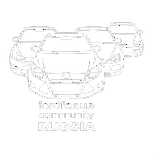 Наклейка Ford Focus Community Russia