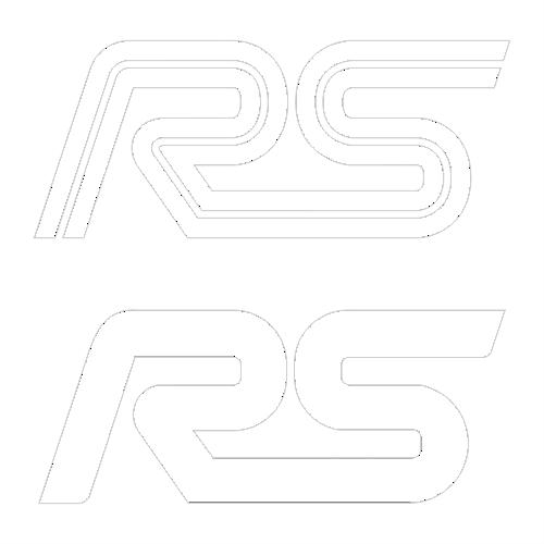 Наклейка Ford RS
