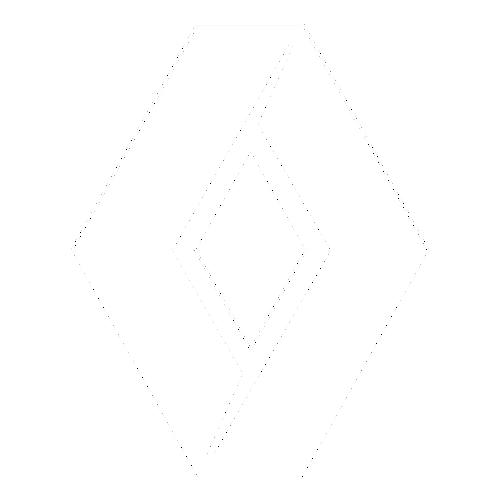 Наклейка логотип Рено
