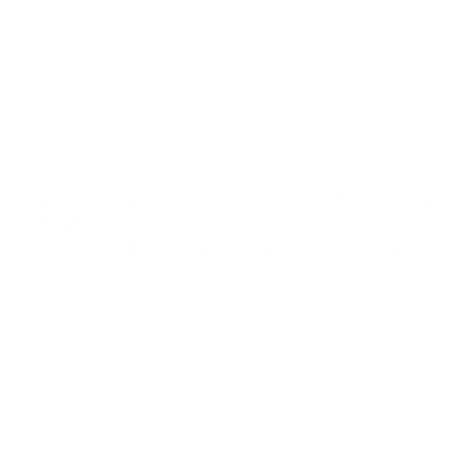Наклейка надпись Рено