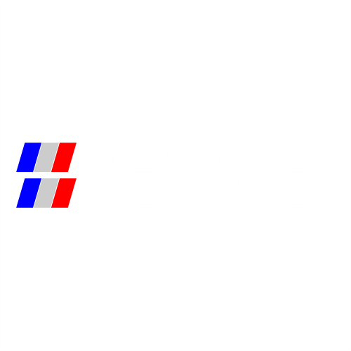 Наклейка Renault Flag