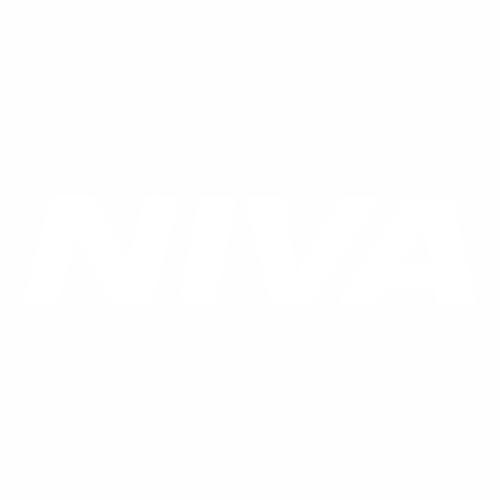 Наклейка Надпись НИВА
