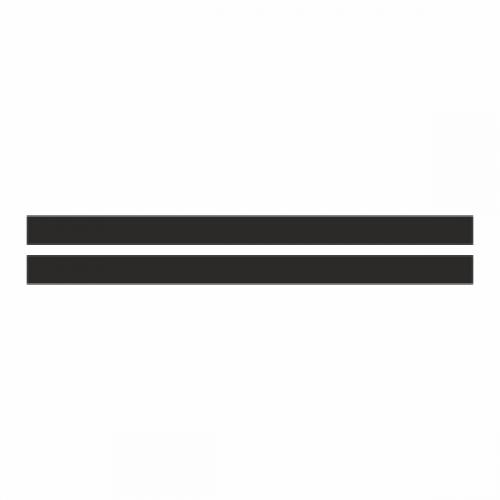 Черный фон для номерной рамки - 2шт.