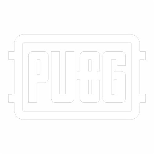 Наклейка PUBG logo
