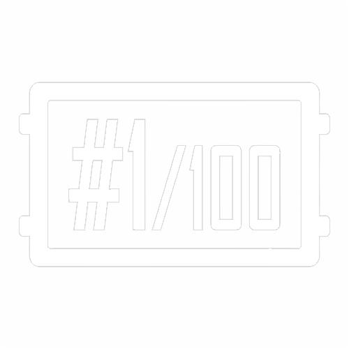 Наклейка PUBG #1/100