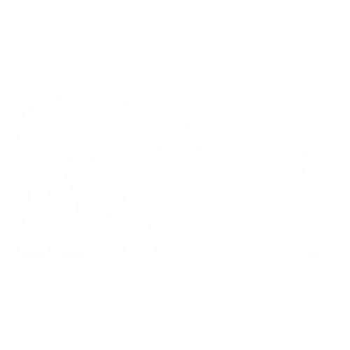 Девочка и шагоход AT-AT