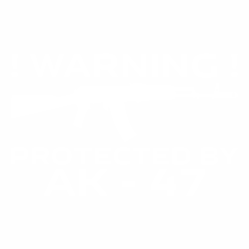 Protected by AK-47