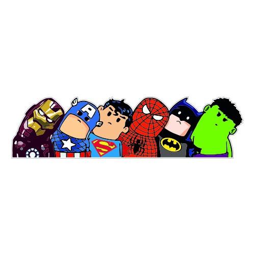 Супергерои 25*6см (печать)