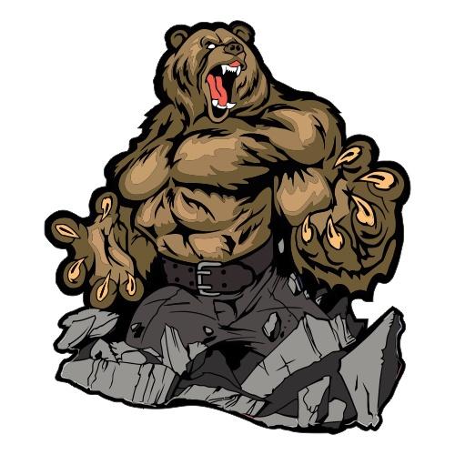 Медведь - 3 (печать)