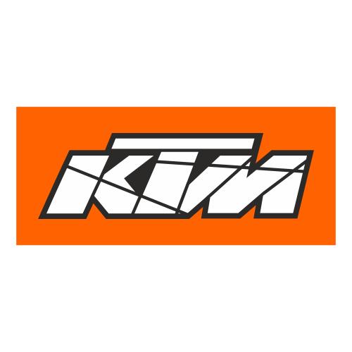 KTM цветное лого (печать)