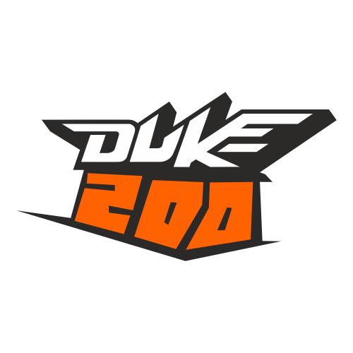 Наклейка KTM DUKE 200