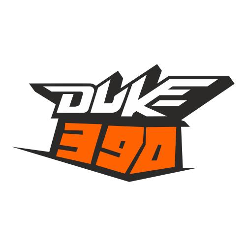 Наклейка KTM DUKE 390