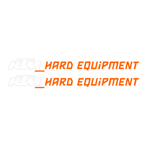Наклейка KTM HARD EQUIPMENT
