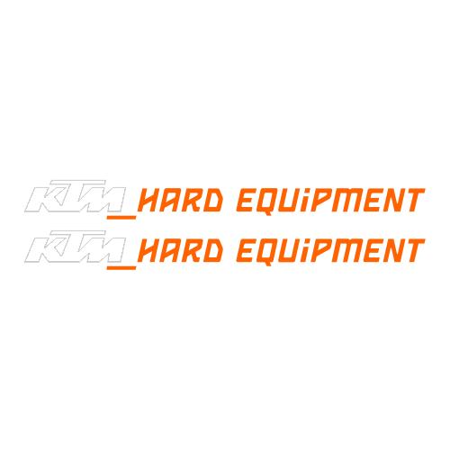 Наклейка KTM HARD EQUIPMENT