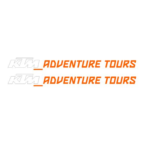Наклейка KTM ADVENTURE TOURS