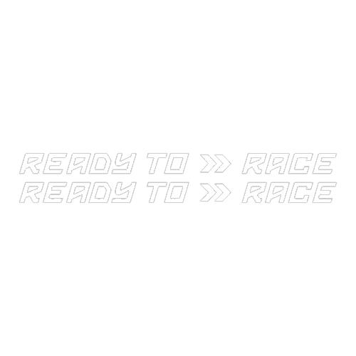 Наклейка READY TO RACE