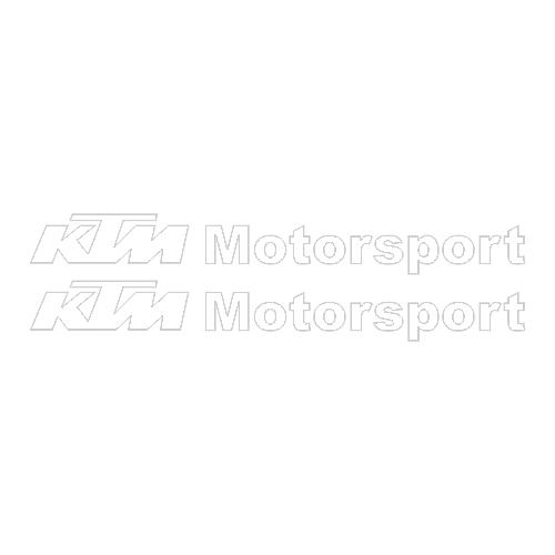 Наклейка KTM Motorsport