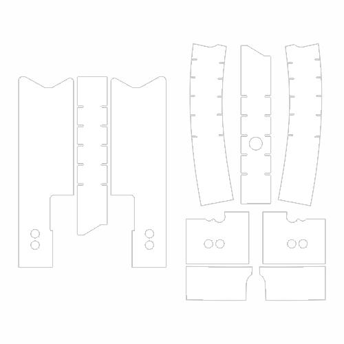 Защитные наклейки на раму Yoya Plus 3
